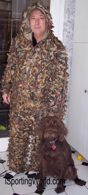 Two Piece 3d Leafy Camo Suit Xxl Xxxl