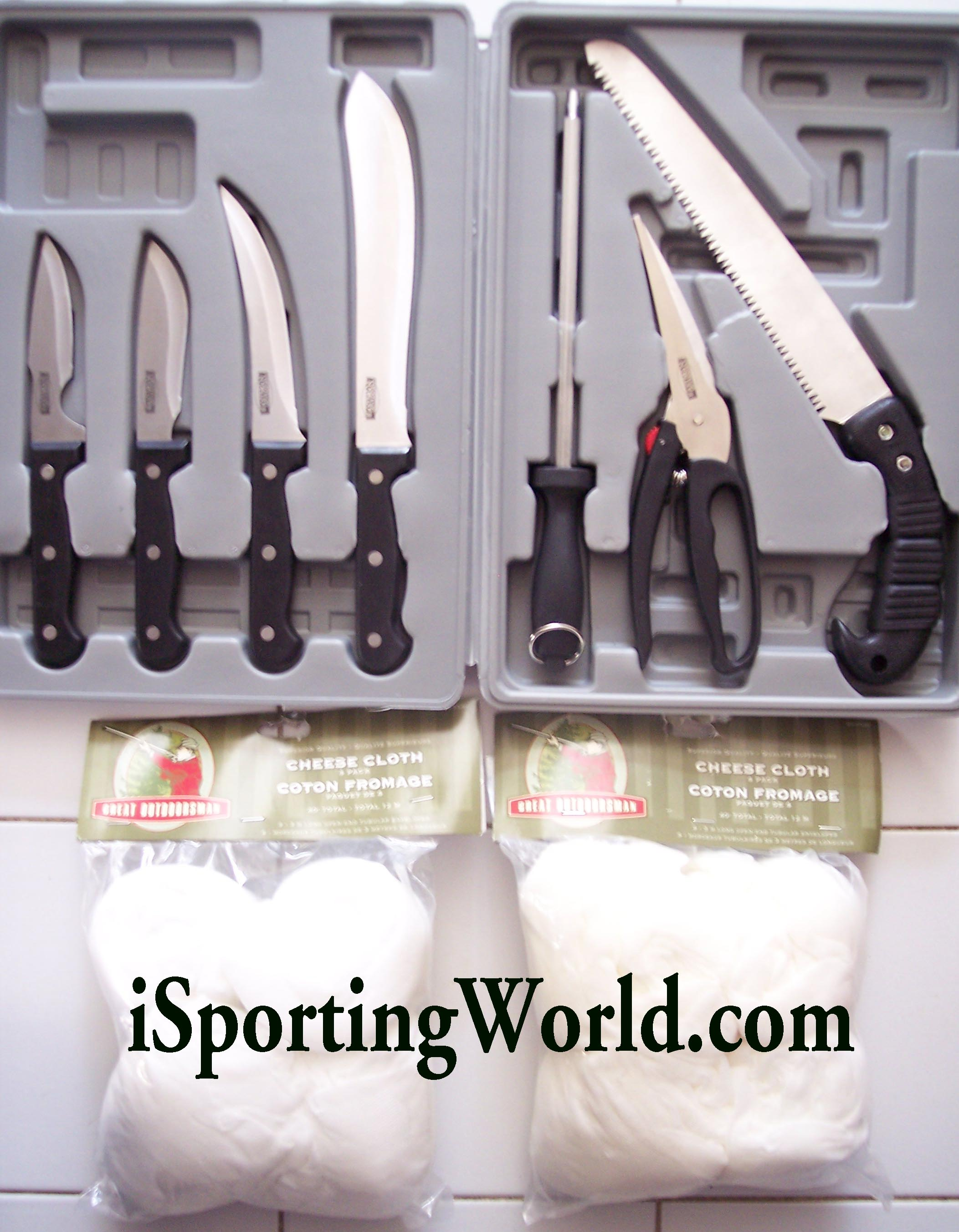 EASTMAN OUTDOORS Do-It-Yourself BUTCHER KNIFE PROCESSING KIT