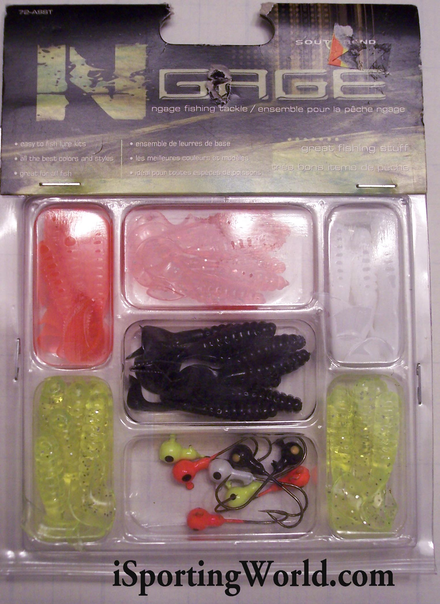 Two (2) 26 piece Fishing Tackle Kits by N Gage