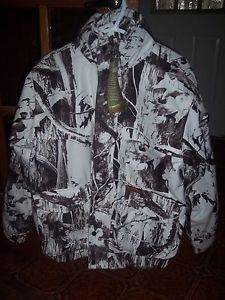 SNOW CAMO PARKA in LARGE