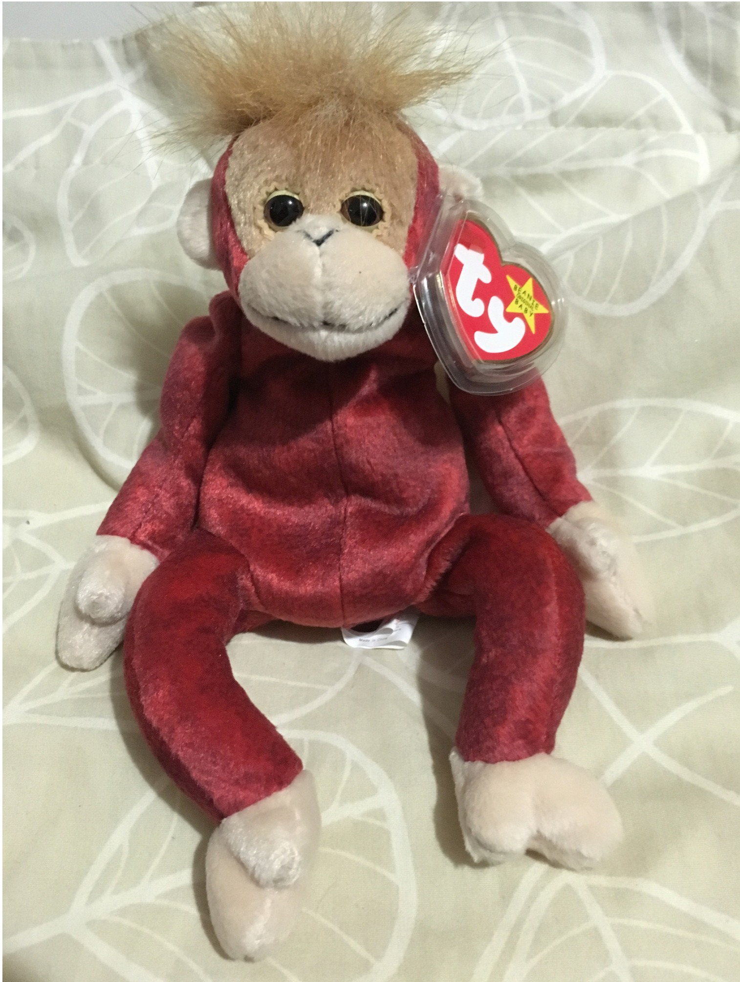 Sweetheart the Orangutan Ty Beanie Baby