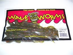 TIKI MAN WAVE WORMS Tiki Tube Green Pumpkin