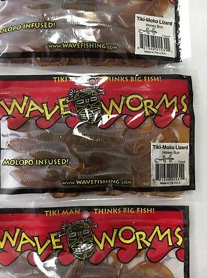TIKI MAN WAVE WORMS HONEY BUN LIZARDS